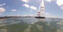 First Sailing Autonomous Navigation Tests