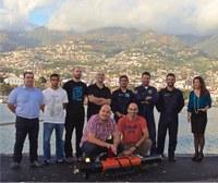 Demostración de Robótica Submarina en Madeira