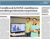 Investigadores ROC-SIANI en La Provincia